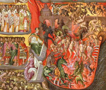706px-KLONTZAS_GEORGIOS_End_of_16th_cent_The_Second_Coming_detail_The_Hell