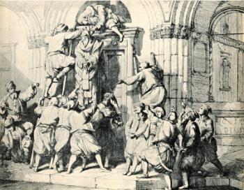 Hanging of St_ Gregory V